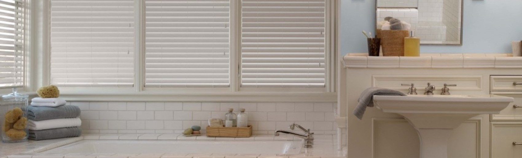 Fresno Faux Wood Blinds